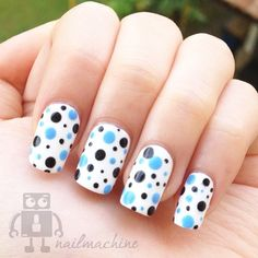 Black and Blue dots