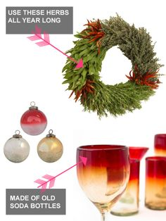 Freebie Fridays: Win Recycled #Holiday Decorations From @Bambeco  (http://blog.hgtv.com/design/2013/12/06/win-free-organic-recycled-christmas-decorations/?soc=pinterest)