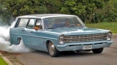 U.S. Nationals to Drag Week: Adventure in a '67 Ford Wagon! - Roadkill E...
