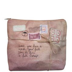Disaster Designs Paper Plane Wash Bag