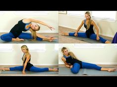 Flexibility Stretches For How To Do The Splits - Stretch Routine & Tutorial - YouTube