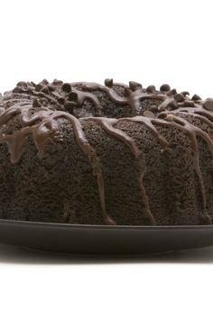 Chocolate! Chocolate! Chocolate! Bundt Cake With Chocolate Glaze Recipe