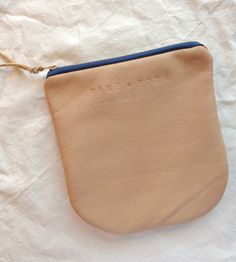 Leather Graph Pattern Pouch / by Pine & Boon