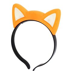 uxcell Cosplay Flash LED Cat Ear Light Hair Band Hairband Headband Orange ** To view further for this item, visit the image link.
