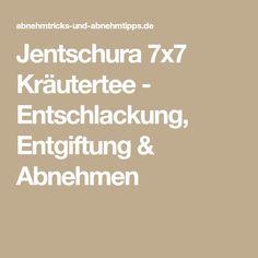 Jentschura 7x7 Kräutertee - Entschlackung, Entgiftung & Abnehmen