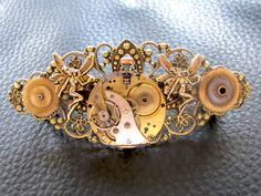 Steampunk French Style Barrette By Roger