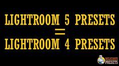 #Lightroom 5 Presets = Lightroom 4 Presets ( Delicious Presets ) #lightroom5 #lightroom4