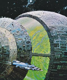 Angus McKie - The High Frontier from the book The Flights of Icarus (1977) by Donald Lehmkuhl