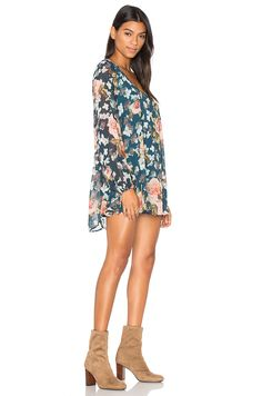 Show Me Your Mumu Donna Michelle Tunic Dress in Fall en Fall in Love Floral | REVOLVE