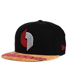 New Era Portland Trail Blazers Wood Viz 9FIFTY Snapback Cap Men - Sports  Fan Shop By Lids - Macy s 086d539af2da