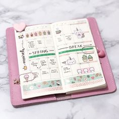 Hobonichi weeks monthly spread ideas (Instagram: @studieswithann) Cute Planner, Planner Tips, Planner Layout, Goals Planner, Budget Planner, Happy Planner, Hobonichi Techo, Hobonichi Ideas, Planner Organisation