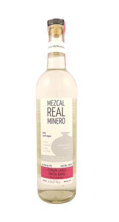 Mezcal Real Minero.