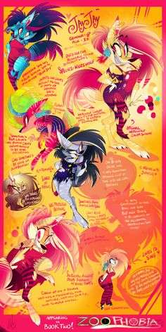 JayJay Ref Sheet by VivzMind.deviantart.com on @DeviantArt OMG I SAW A MUSIC VIDEO WITH THESE GUYS!!!!!!