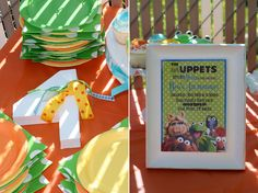 Emily + Colton: Muppet Birthday Party