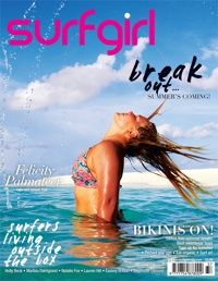 Loving the latest issue of surfgirl.