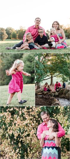 A Milliken Arboretum Family Session in Spartanburg South Carolina