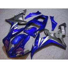 Yamaha YZF-R1 2002-2003 Injection ABS Fairing - Others - Blue/Gray | $639.00
