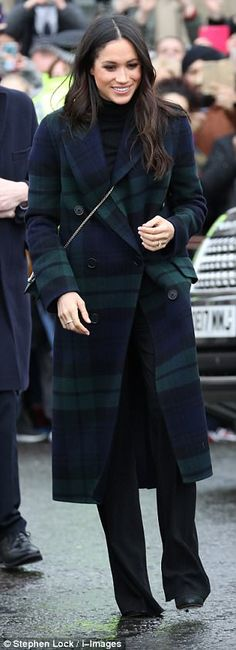 The bag sold out within minutes of Meghan appearing in Edinburgh