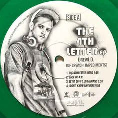 """DrewI.D.* - The 4th Letter EP: buy 12"""", EP, Gre at Discogs"""