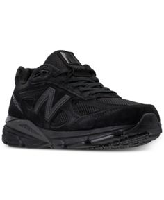 98e06232810a New Balance Men s 990 V4 Running Sneakers from Finish Line - Black 10