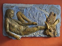 Afternoon of a Faun, relief,  Artist Zofia Kubicka