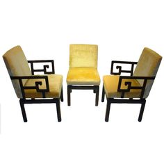 Michael Taylor Far East Baker Dining Chairs