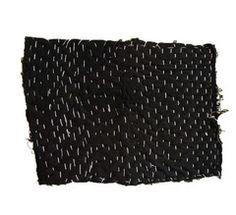 An Irregularly Shaped Cotton Zokin: Layered