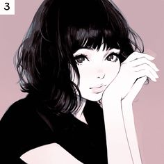 rainbow in your eyes | kuvshinov-ilya:   Which one of these illustration...