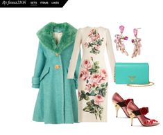 Smart Occasion: Today it's all about florals, Dolce&Gabbana style! Find out more on my blog (life as a life model, art and fashion). Search for collage items at fiona2105, Polyvore.com #ladiesfashion #womensfashion #polyvore Smart Occasion, Model Art, Florals, About Me Blog, Collage, Search, Womens Fashion, Polyvore, Life