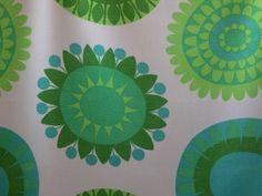 scandi flowers cotton fabric