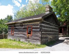 Home of pioneer family in Upper Canad