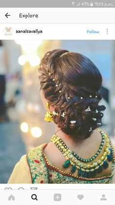 Wedding Hairstyles for the Season Hey girl! Today's post says 10 best wedding hairstyles for the season. The post is about the look of the bridal hair. We always love to share fashionable and pretty ideas with you. From hair to sh Braided Hairstyles Updo, Mom Hairstyles, Trendy Hairstyles, Braided Updo, Beautiful Hairstyles, Hairstyle Ideas, Soccer Hairstyles, Tomboy Hairstyles, Modern Haircuts