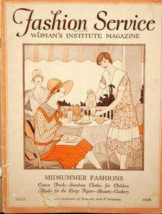 Fashion Service, Women's Institute Magazine, July 1928