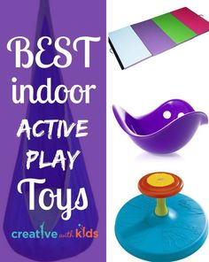 Get out some wild energy when kids are stuck inside - Best Indoor Active Toys for Preschoolers and Toddlers