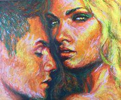 New Blood Art | Hunger by Liz Y Ahmet | Buy Original Art Online | Artworks by Emerging Artists for Sale
