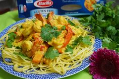 Smashing ingredients in a mortar and pestle, releasing their intense smells and flavour is one of my favourite kitchen experiences. Prawn Spaghetti, Australian Food, Recipe Creator, Turmeric, Glutenfree, Garlic, Author, Cooking, Ethnic Recipes