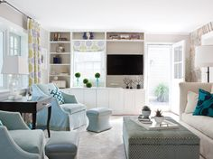 Built-ins and fabric colors