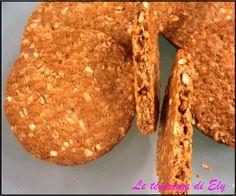 Le tenerezze di Ely: Biscotti integrali ai cereali e miele