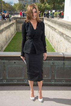 Paris-Fashion-Week-Street-Style-Spring-2013-carine-roitfeld-leather-pencil-skirt