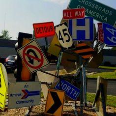 new roadsigns that seen @ interchange  I-430/630 (found on Facebook)