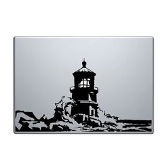 Lighthouse Vinyl Decal / Sticker to fit Macbook by StickerScience, $5.49