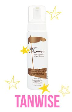 tanwise- Great Self Tanner