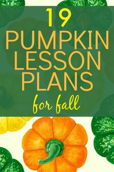 FREE pumpkin lifecycle printable! Fall lesson ideas and learning about pumpkins. #pumpkinlessons #falllessons #lessonplans #homeschool #freeprintables
