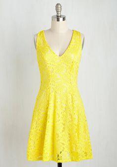 The Zest I Can Do Dress, #ModCloth
