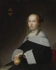Margaretha Dicx, Johannes Cornelisz. Verspronck, 1651