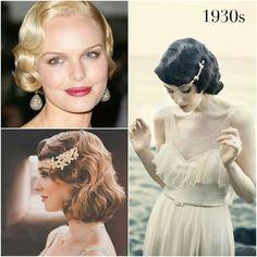 Los años 30 y su homenaje en forma de peinados elegantes y con ondas marcadas