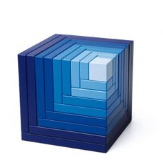 Cella Cube Blue by  Naef