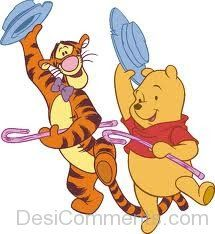 Tigger Dancing With Winnie-DESI6016