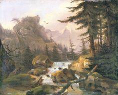 Stifter, Adalbert: Wasserfall im Hochgebirge
