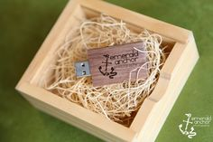 USB drive packaging- Emerald Anchor Photography